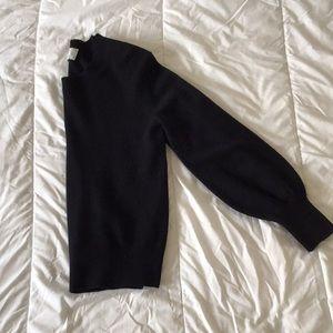 Everlane cashmere lantern sweater